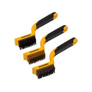 Roughneck Wide Brush Set of 3