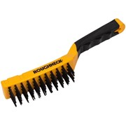 Roughneck Carbon Steel Wire Brush Soft-Grip 300mm (12in)