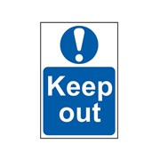 Scan Keep Out - PVC 400 x 600mm