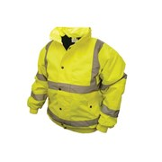 Scan Hi-Vis Bomber Jackets - Yellow