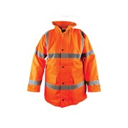 Hi-Vis Motorway Jackets Orange