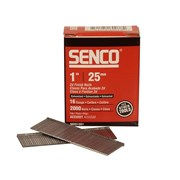 Senco Straight Brad Nails Galvanised 16G