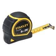 Stanley Tools Pocket Tape 8m/26ft (Width 25mm) Carded