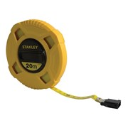 Stanley Tools Closed Case Fibreglass Tape 20m (Width 12.7mm)