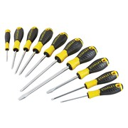 Stanley Tools 0-60-211 Essential Screwdriver Set of 10 PH/SL/PZ