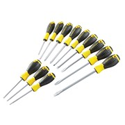 Stanley Tools 0-60-212 Essential Screwdriver Set of 12 PH/SL/PZ/TX