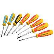 Stanley Tools Magnum Terminal/Slotted/PoziDrive/Phillips Screwdriver Set of 8