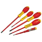 Stanley Tools FatMax VDE Insulated Phillips & Parallel Screwdriver Set of 5