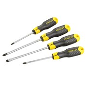 Stanley Tools Cushion Grip Parallel/Flared/Phillips Screwdriver Set of 4