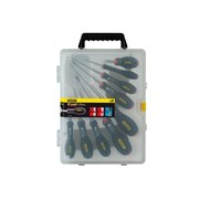 Stanley Tools FatMax Screwdriver Set Parallel / Flared / Pozi Set of 9