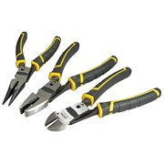 Stanley Tools FatMax Compound Action Pliers Set of 3