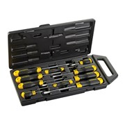 Stanley Tools Cushion Grip Flared/Pozi Screwdriver Set of 10