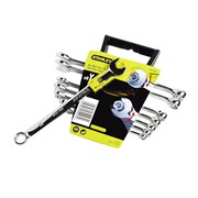 Stanley Tools Accelerator Wrench Set of 8 Metric 8 to 17mm