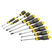 Stanley Tools Cushion Grip Flared/Phillips Screwdriver Set of 10