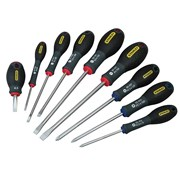 Stanley Tools FatMax Screwdriver Set Parallel/Flared/Pozi Set of 9