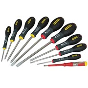 Stanley Tools FatMax Screwdriver Set Parallel/Flared/Phillips Set of 10
