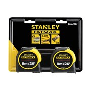 Stanley Tools FatMax® Classic Tape Twin Pack 8m/26ft (Width 32mm)