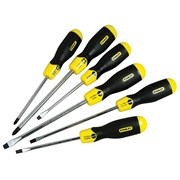 Stanley Tools Cushion Grip Screwdriver Set of 6