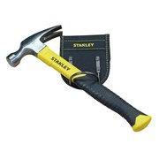 Stanley Tools Yellow Fibreglass Claw Hammer 16oz + Loop