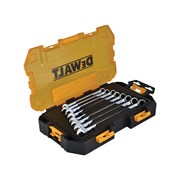 Stanley Tools Tough Combination Spanner Set of 8 Metric 10 to 17mm