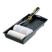 Stanley Tools Jumbo Mini Roller Set with 2 Sleeves 100mm (4in)