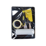 Stanley Tools Roller & 3in Max Finish Brush Set, 6 Piece