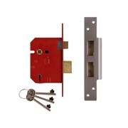 5 Lever Mortice Sashlocks - 2234E