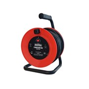 Faithfull Open Frame Cable Reel With Thermal Protection 20m 240 Volt