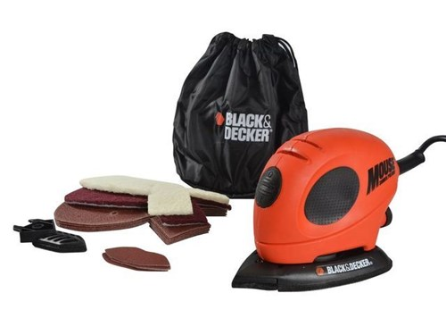 XMS Black & Decker KA161BC Mouse® Detail Sander & Sanding Sheets