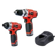 Einhell TC CD/CI Cordless Twin Pack 12 Volt 2 x 1.5Ah Li Ion