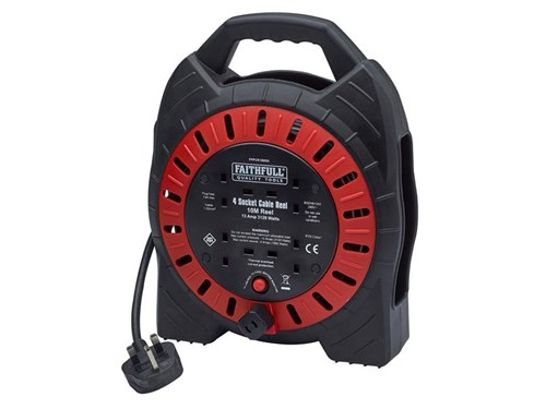 XMS Faithfull Power Plus Cable Reel 10m 13A