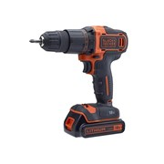 Black & Decker Combi Drill 18V 2 x 1.5Ah Li-ion with 120 Piece Accessory Set