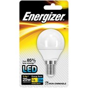 Energizer Lighting Energizer E14 Warm White Blister Pack Golf 3.4w