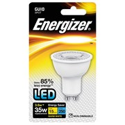 Energizer Lighting Energizer GU10 Warm White Blister Pack 3.6w - 35w