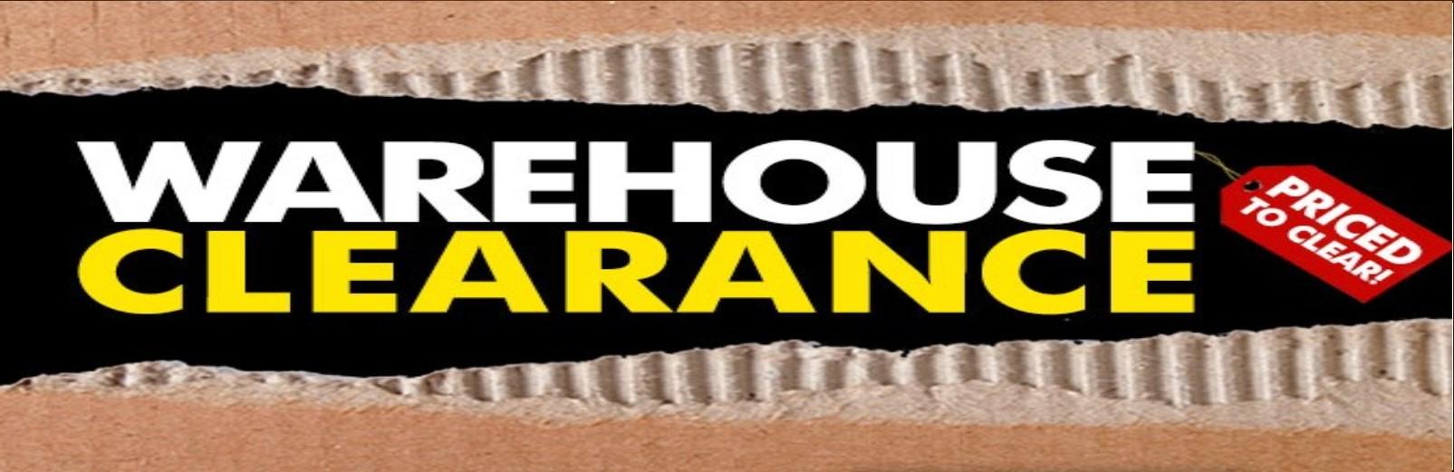 Warehouse Clearance Sale