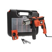Black & Decker CD714EDSK Impact Hammer Drill 710 Watt 240 Volt With Free Detector