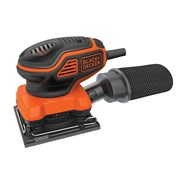 Black & Decker KA450 1/4 Sheet Paddle Switch Orbital Sander 240 Volt 220 Watt