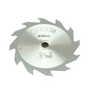 Black & Decker Circular Saw Blade 160 x 16mm x 12T Fast Rip