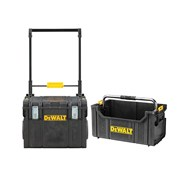 "DEWALT DWST81683 TOUGHSYSTEMâ""¢ Wheeled Toolbox & TOUGHSYSTEMâ""¢ Tote"