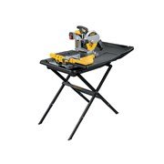 DEWALT D24000 Wet Tile Saw with Slide Table