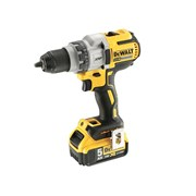 DEWALT DCD991P2 Brushless 3 Speed Drill Driver 18 Volt 2 x 5.0Ah Li-Ion