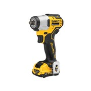 DEWALT DCF902D2 Brushless XR Sub-Compact 3/8in Impact Wrench 12V 2 x 2.0Ah Li-ion