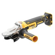 DEWALT DCG405FN XR Brushless 125mm Flat Head Grinder 18V Bare Unit