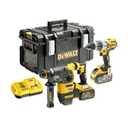 DEWALT DCK2033X2 Brushless FlexVolt XR Twin Pack 18/54V 2 x 9.0/3.0Ah Li-ion
