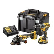 DEWALT DCK2080P2T XR Brushless 2 Speed Twin Kit 18V 2 x 5.0Ah Li-ion