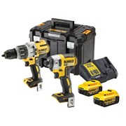 DEWALT DCK276M2T XR 3 Speed Twin Kit 18V 2 x 4.0Ah Li-ion