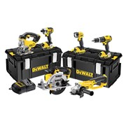 DEWALT DCK691M3 Cordless 2 Speed 6 Piece Kit 18 Volt 3 x 4.0Ah Li-Ion