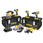 DEWALT DCK692M3 Cordless 3 Speed 6 Piece Kit 18 Volt 3 x 4.0Ah Li-Ion
