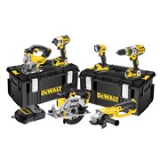 DEWALT DCK694P3 Brushless 3 Speed 6 Piece Kit 18 Volt 3 x 5.0Ah Li-Ion