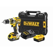 DEWALT DCKD795PM XR 2 Speed Combi Drill 18V 1 x 4.0Ah & 1 x 5.0Ah Li-ion